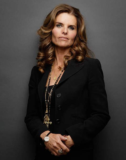 Maria Shriver portrait photograph