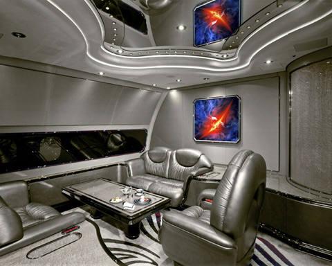 opulent private jet interiors photographed by nick gleis