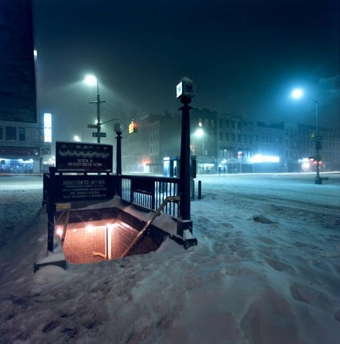 Jan Staller NYC snow