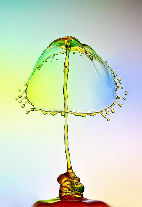 Heinz Maier water droplets