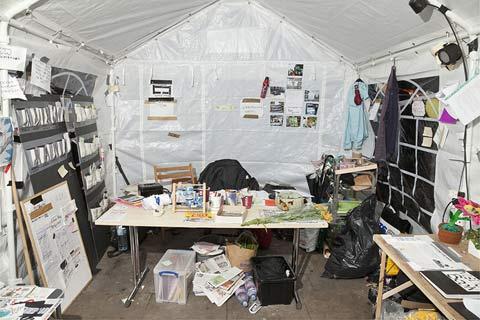 Occupy-Wall-Street-London interior photography Ben Roberts