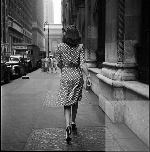 Stanley-Kubrick photographs New York