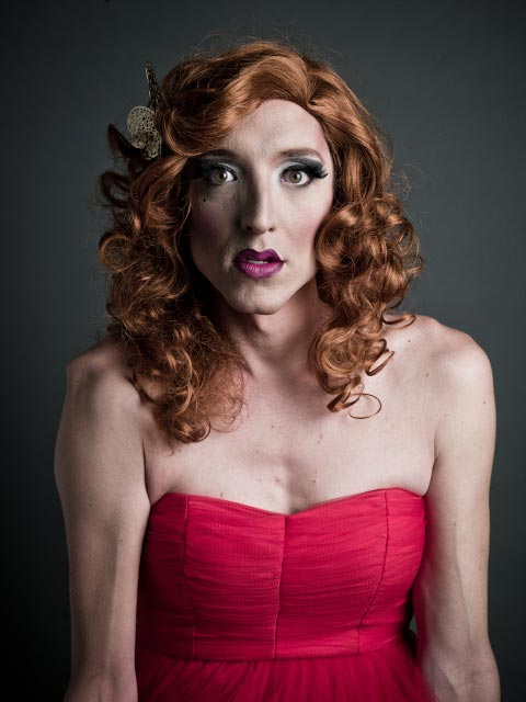 Before And After Portraits Of Camp Drag Performers
