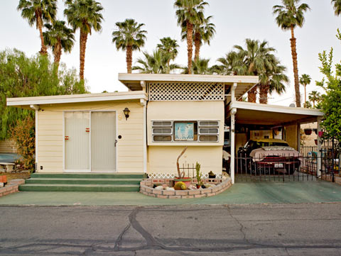 Jeffrey-Milstein Palm Springs Trailer Parks Photographs