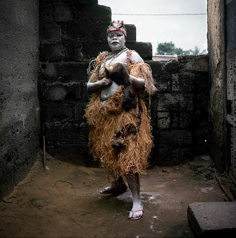 Congolese wrestlers Colin Delfosse photography