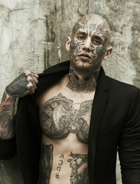 Dario Model Tattoo