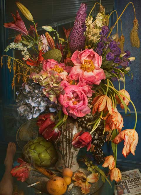 David LaChapelle flowers
