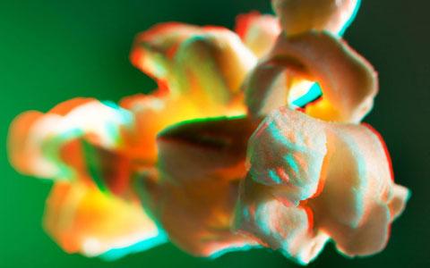 3D popcorn Kfir-Ziv photography