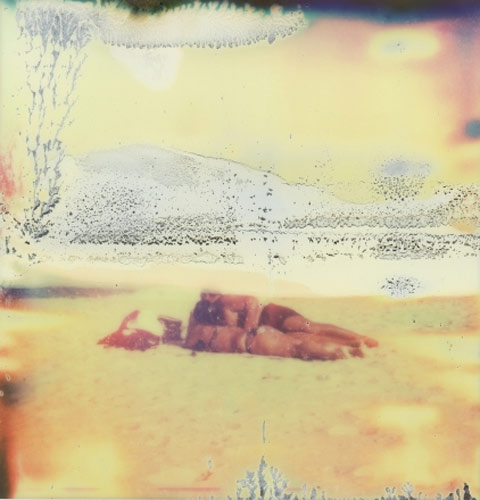 Rhiannon Adam polaroid beach photography