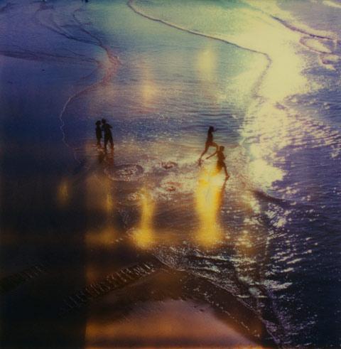 Rhiannon Adam polaroid beach photography
