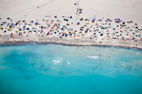 Aerial photographs of the beach alex-maclean