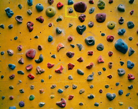 climbing wall Elliott-Wilcox photography