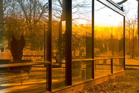 Philip Johnson Glass House Connecticut James Welling photography