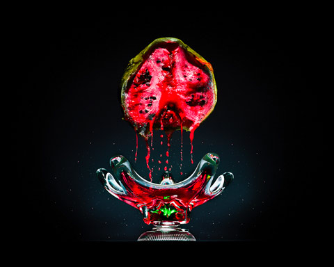 rotting pomegranate Klaus-Pichler