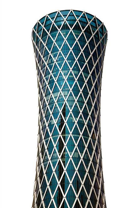 Qatar skyline chris johnson photography