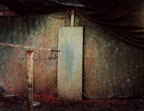 paintball-arenas photography Katja Mayer Peter Chadwick