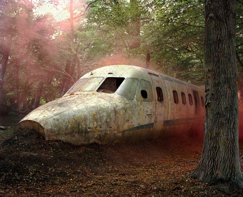 Mystical Landscapes Photographed at Paintball Sites