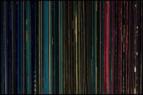 records organized by color George Benson photography