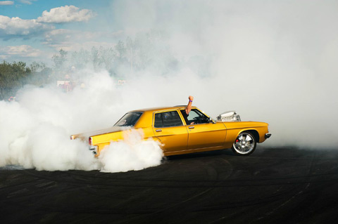 burnout competition Australia Simon-Davidson photography