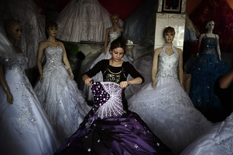 Wedding Dresses in Sadr City