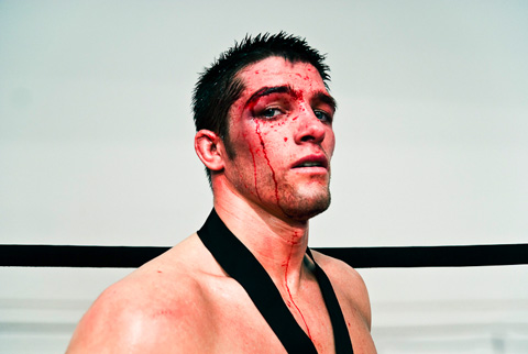 mixed martial arts (MMA) cage-fighting Adam Smith
