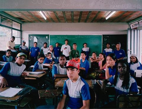 Julian Germain classroom photography