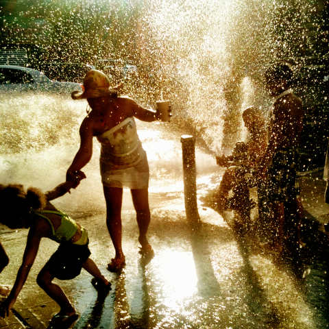 Hydrant Battles: a Celebration of Summer and Inner City Life