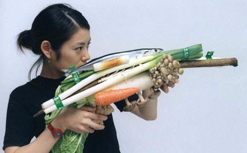 Tsuyoshi Ozawa vegetable guns