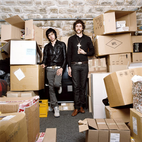 Baudouin Xavier and Gaspard, DJ, ELLE