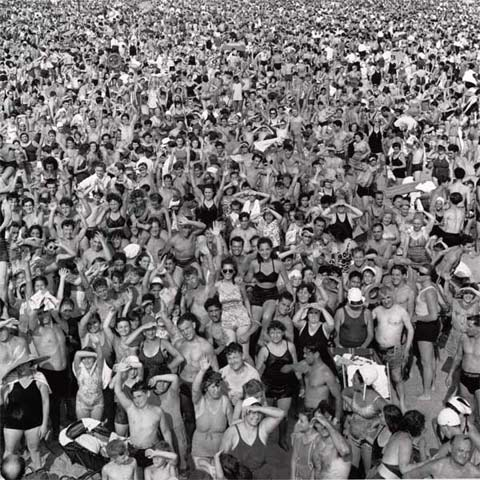 Crowd-at-Coney-Island Weegee