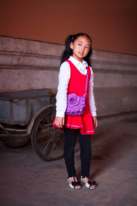David-Oates Beijing fashion kids