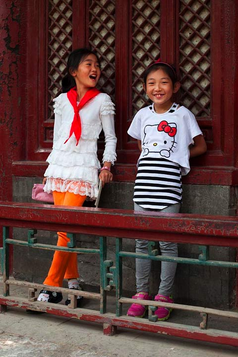 David-Oates Beijing fashion kids
