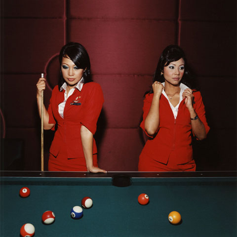 The Daily Lives of Flight Attendants Photographed by Brian Finke