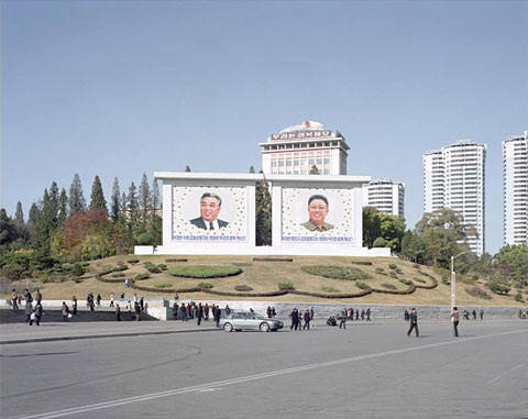 Maxime-Delvaux north korea