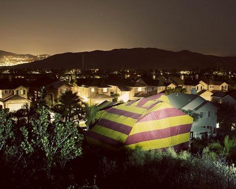 Robert-Benson tented homes photography