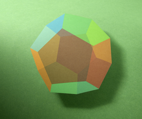 The Five Forms In This Series Of Images Represent Only Known Regular Convex Polyhedra Tetrahedron Hexahedron Octahedron Dodecahedron And