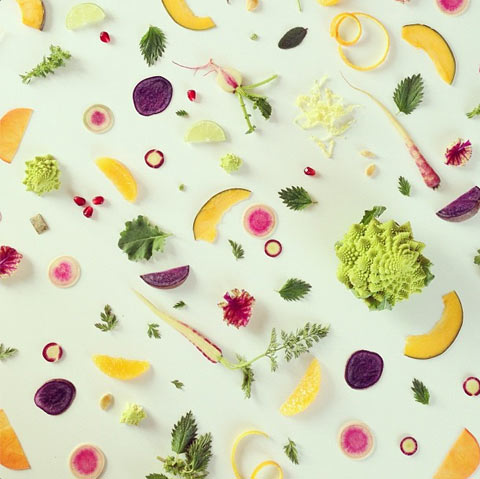 food-collage Julie Lee