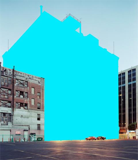 Color Block Building Photographs By Mauren Brodbeck
