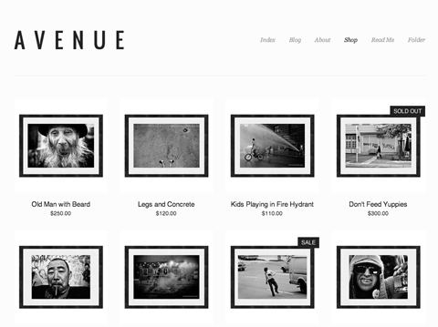Thinking of Setting Up an Online Print Store? Squarespace Has You ...