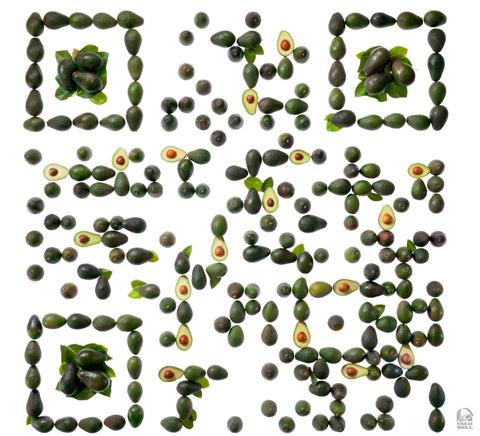 avocado qr code