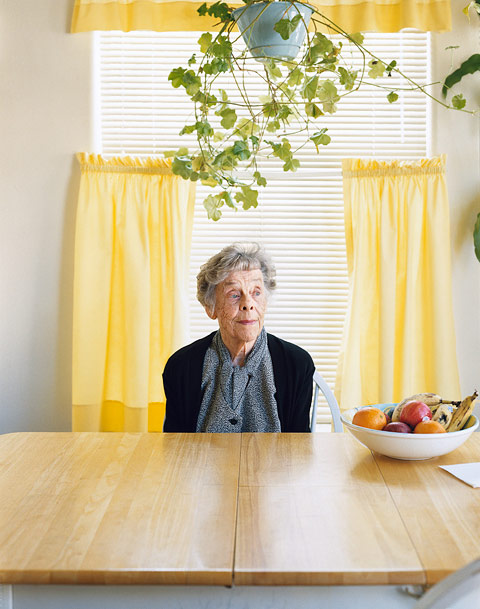 Mark Mahaney's Portraits of his Grandmother After the Death of Her Husband of 67 Years