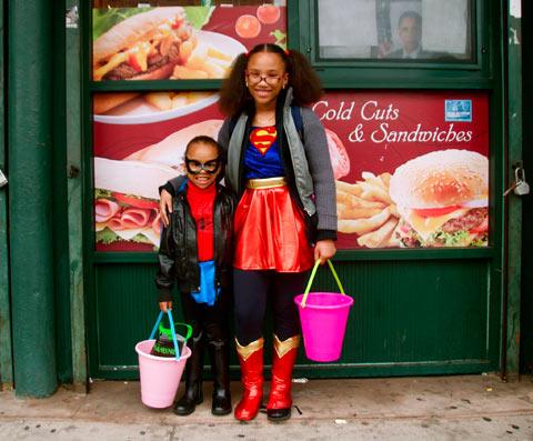 Harlem-Kids halloween