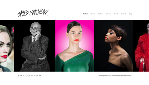 Four Squarespace Website Templates Designed with Photographers in ...