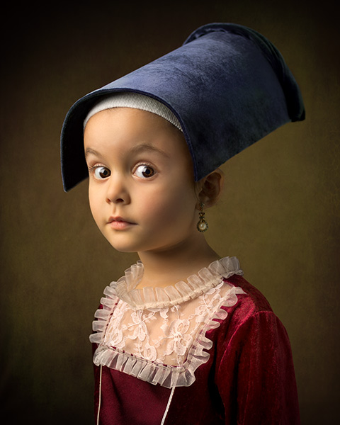 Photographer Channels Old Master Painters with Portraits of His Daughter