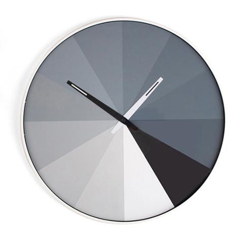 Ultra Thin Wall Clock - Grayscale