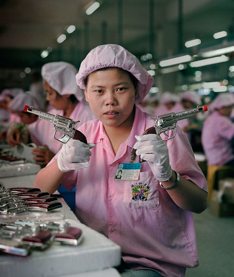 Fascinating Photos Inside China's Toy Factories by Michael Wolf