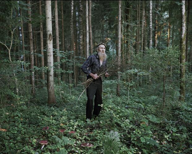 Danila Tkachenko's Fascinating Portraits of Men Living in the Woods