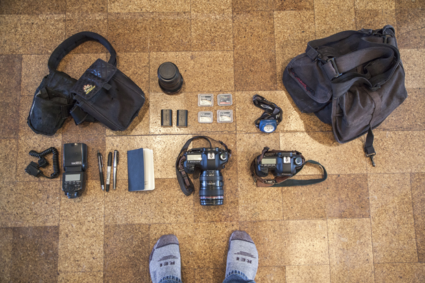 What's In Your Camera Bag?: Photojournalist Ed Kashi