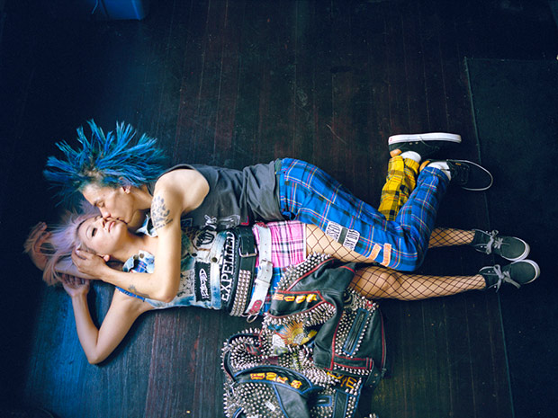 The Backyard Punk Scene in East L.A. Photographed by Angela Boatwright