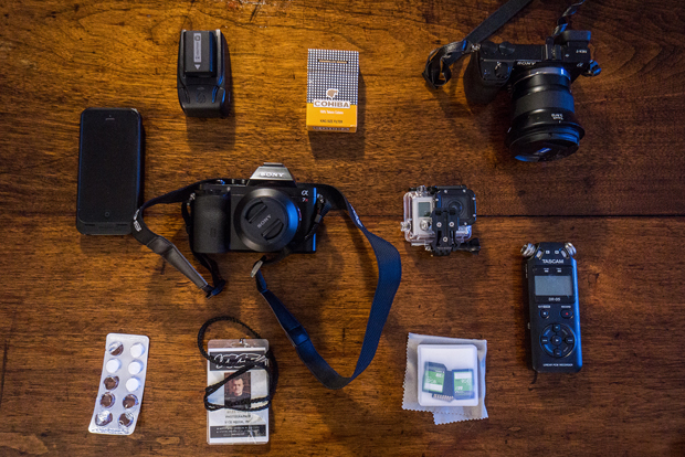 What's In Your Camera Bag?: Photojournalist Giles Clarke